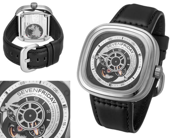 Копия часов Sevenfriday  №MX3465