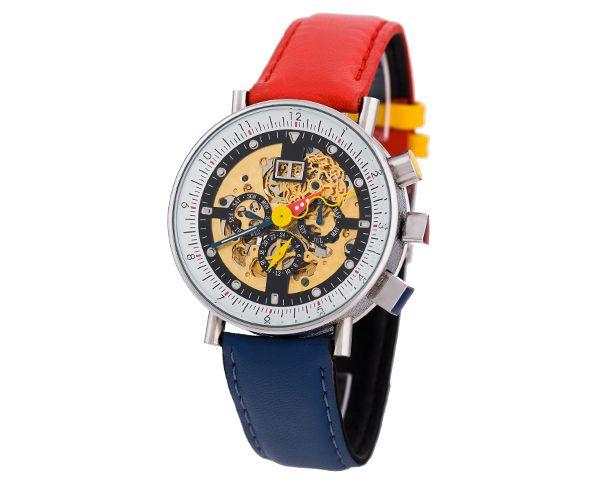 Швейцарские часы с прозрачным циферблатом