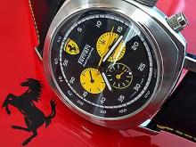 Обзор реплики мужских часов Officine Panerai Ferrari Scuderia Rattrapante Yellow Counters 45 mm
