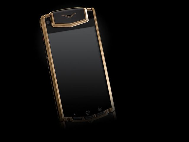 Vertu  Red Gold