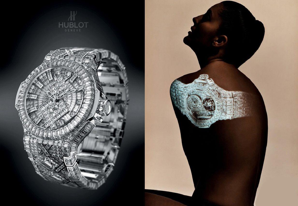 Часы Хублот за 5 000 000$