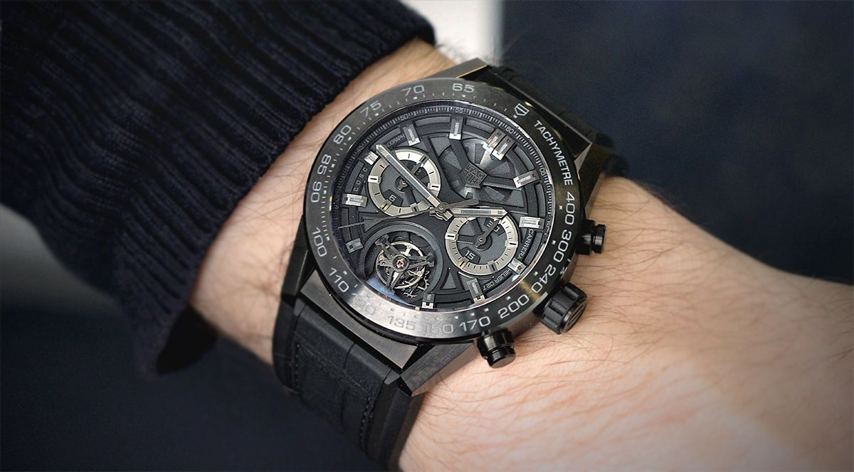 Часы TAG Heuer Carrera 02 Tourbillon