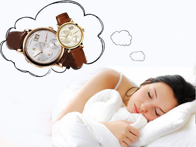 Наручные часы во сне