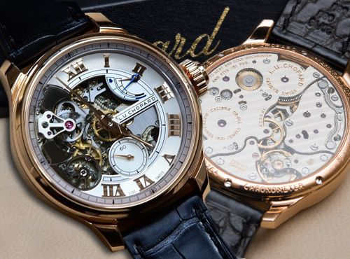 Chopard L.U.C Full Strike Minute Repeater Watch (Чопард ЛЮК Фулл Страйк Минут Репетир Вотч)
