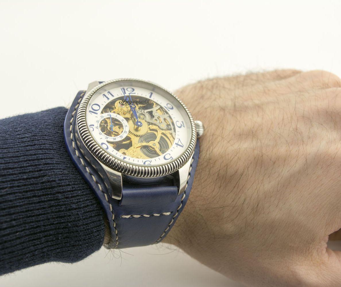 ... Ремешок БУНД для мужских наручных часов из натуральной телячьей кожи  под заказ ... e35f3046a5d7f
