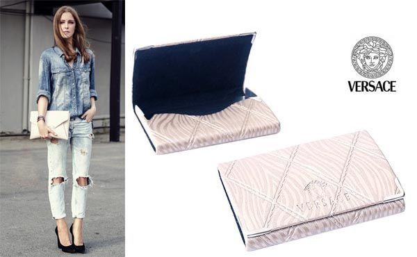 Женская визитница Versace