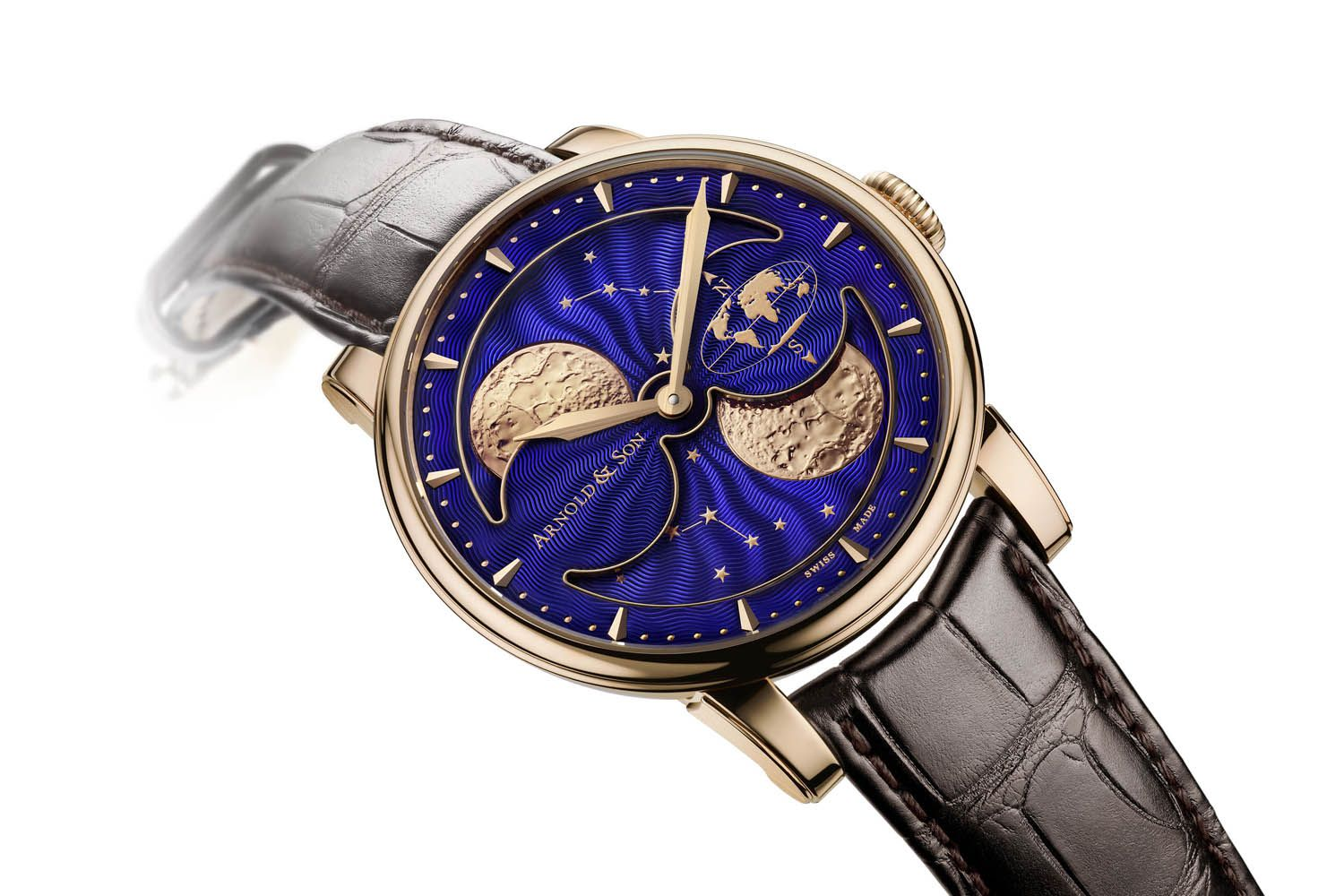 HM Double Hemisphere Perpetual Moon от Arnold & Son