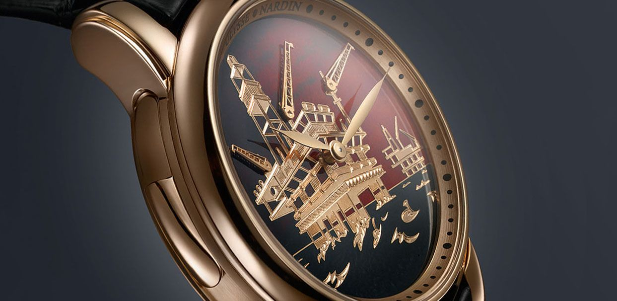 North Sea Minute Repeater (Норс Си Минут Рипетир) in gold от Ulysse Nardin