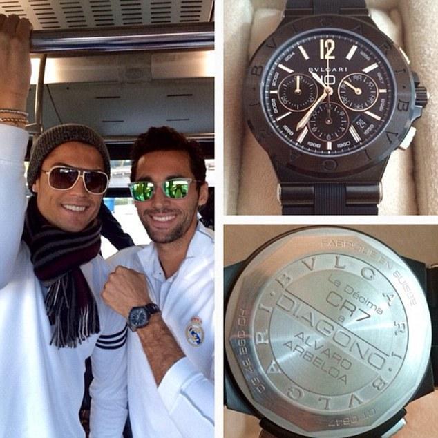 Купить часы как у роналдо отзывы наручные часы михаил москвин