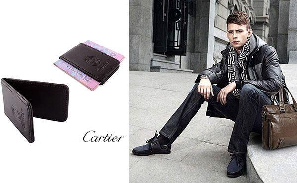 Зажим для грошей від Cartier