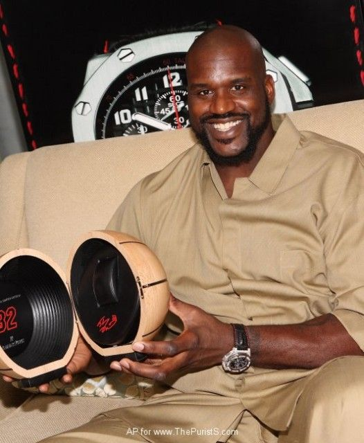 Шакил О'Нил и часы Audemars Piguet Royal Oak Offshore Shaquille O'Nea