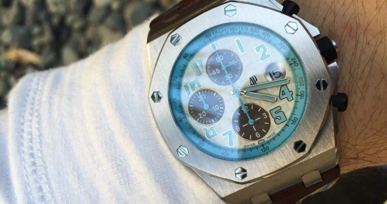 Часы Мухаммеда ибн Салман Аль Сауда Royal Oak Offshore Montauk Highway от Audemars Piguet
