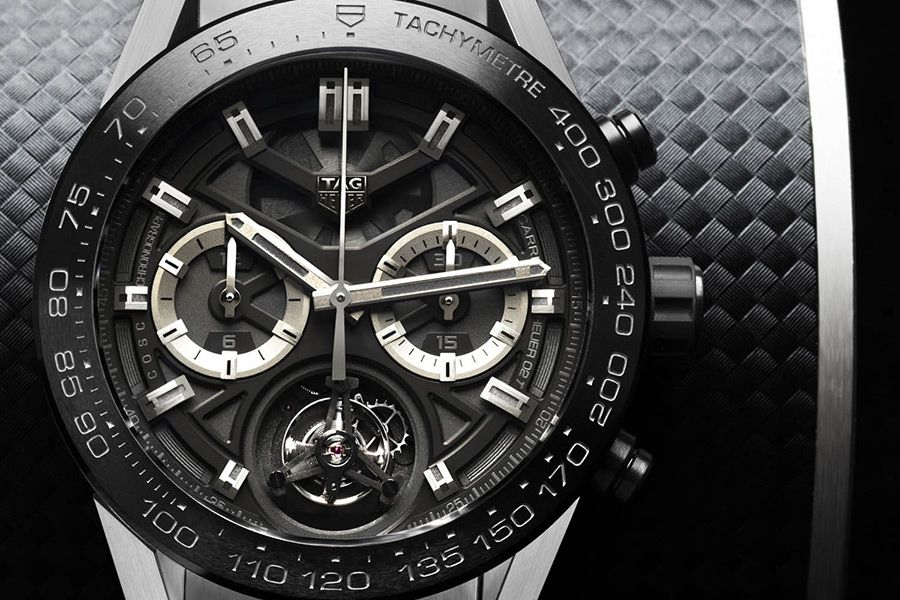 Carrera Heuer 02 Tourbillon от TAG Heuer