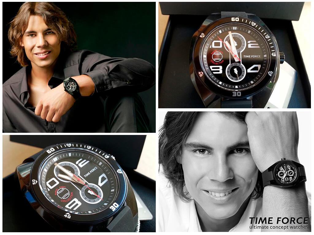 Часы Рафаэля Надаля Time Force-Edition Rafa Nadal Collection