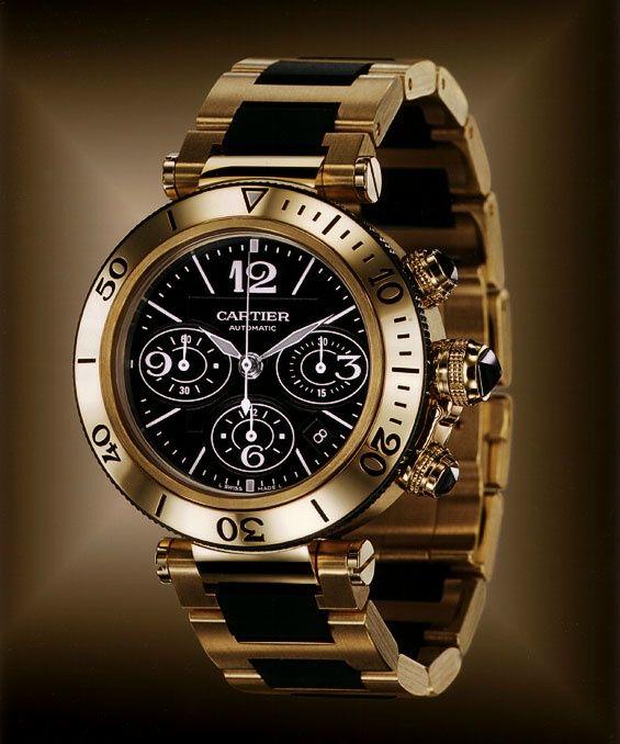 Часы Картье из золота