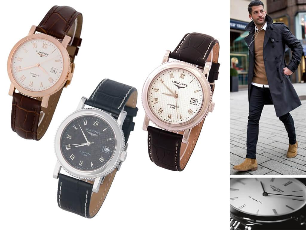 Мужские часы Longines Clous de Paris
