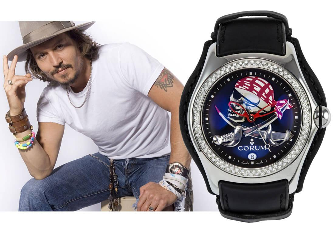 Часы Джонни Деппа Corum Bubble XL Automatic Privateer Pirate