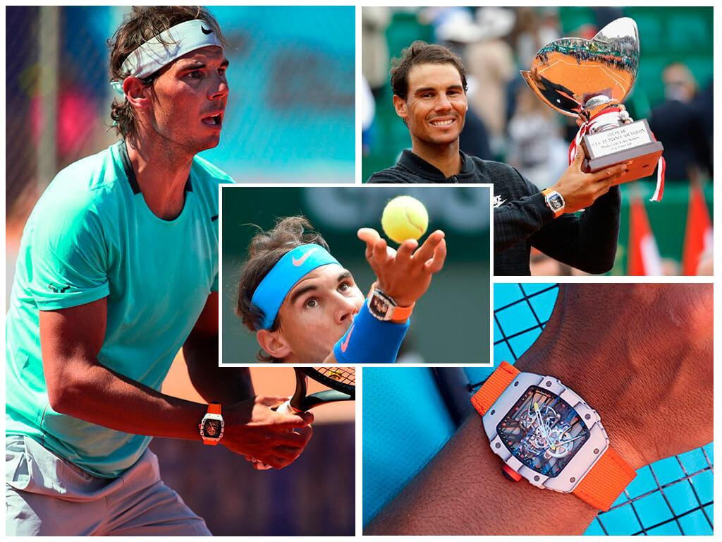 Часы Рафаэля Надаля Richard Mille RM 27-02 Tourbillon Rafael Nadal
