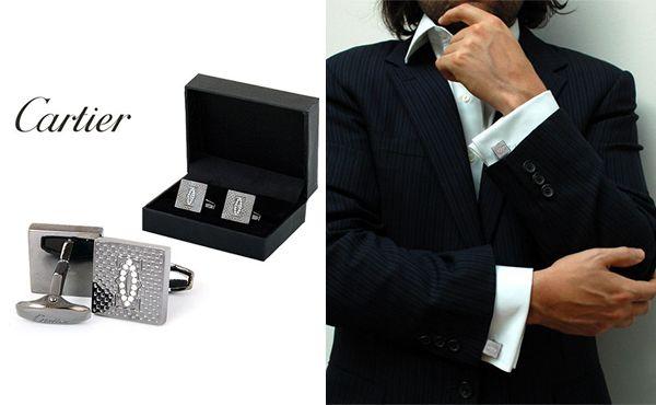 Запонки от Cartier