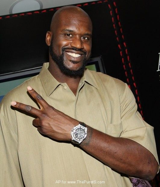 Часы Шакила О'Нила Audemars Piguet Royal Oak Offshore Shaquille O'Neal