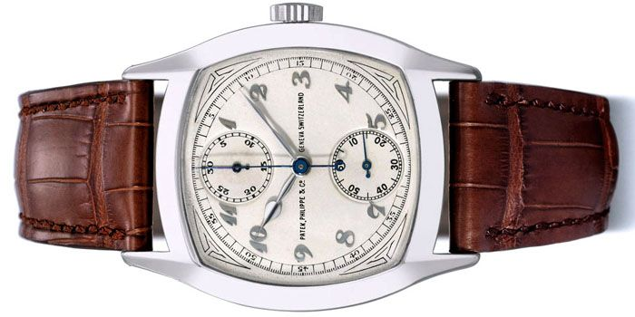 Single-Button Chronograph Watch (Сингл-Батон Хронограф Вотч) от Patek Philippe