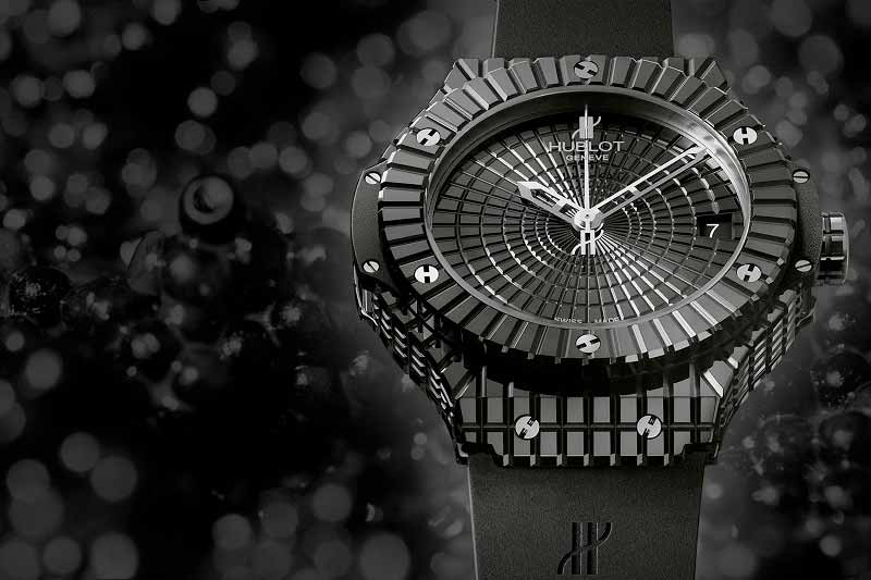 Часы Hublot Caviar Black