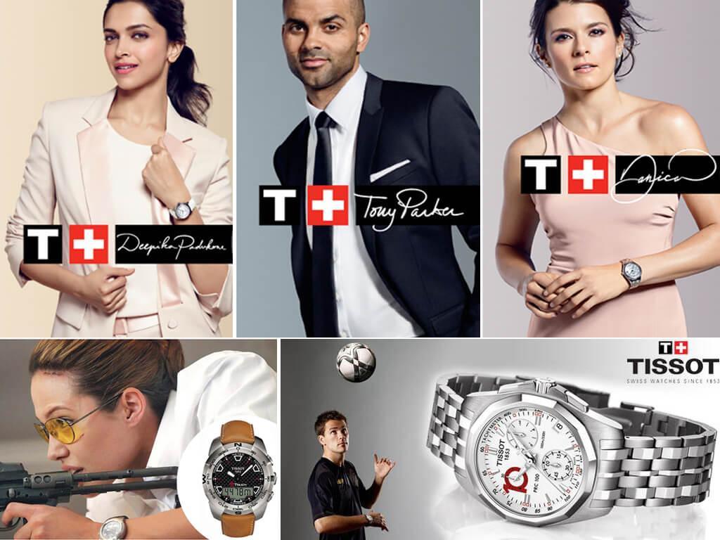выбор мировых звёзд - часы Tissot