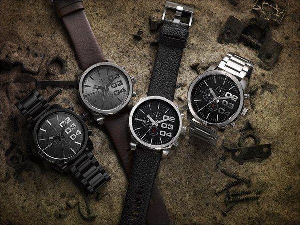 Разные модели часов Дизель