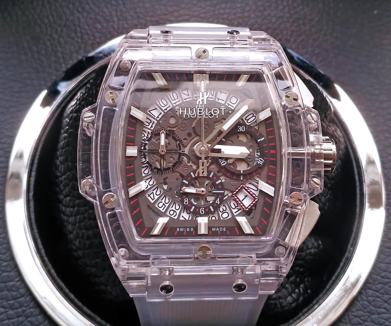 Обзор реплики мужских часов Hublot Spirit of Big Bang Sapphire ... 7d5d55a666444