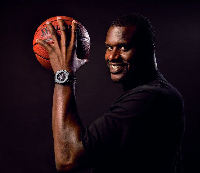 Шакил О'Нил в часах Audemars Piguet Royal Oak Offshore Shaquille O'Neal Limited Edition