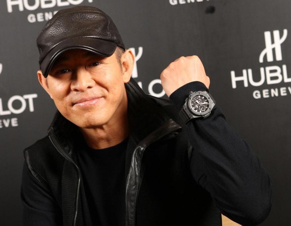 Часы Hublot актёра Джет Ли
