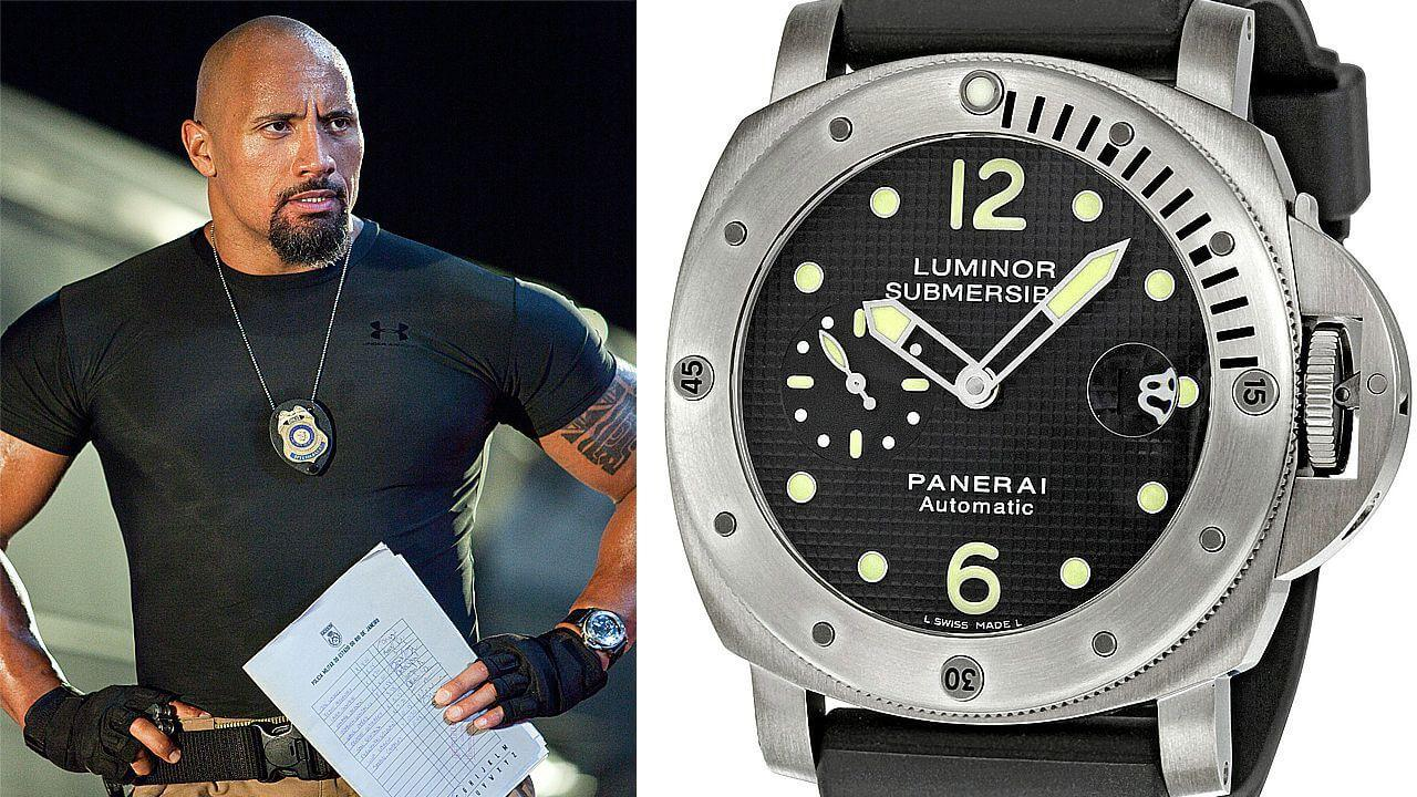 Часы Дуэйна Джонсона Panerai Luminor Submersible