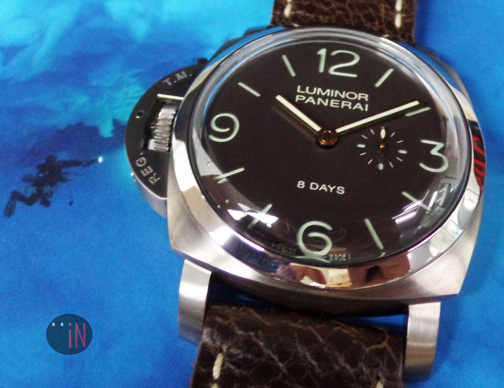 Left handed Officine Panerai