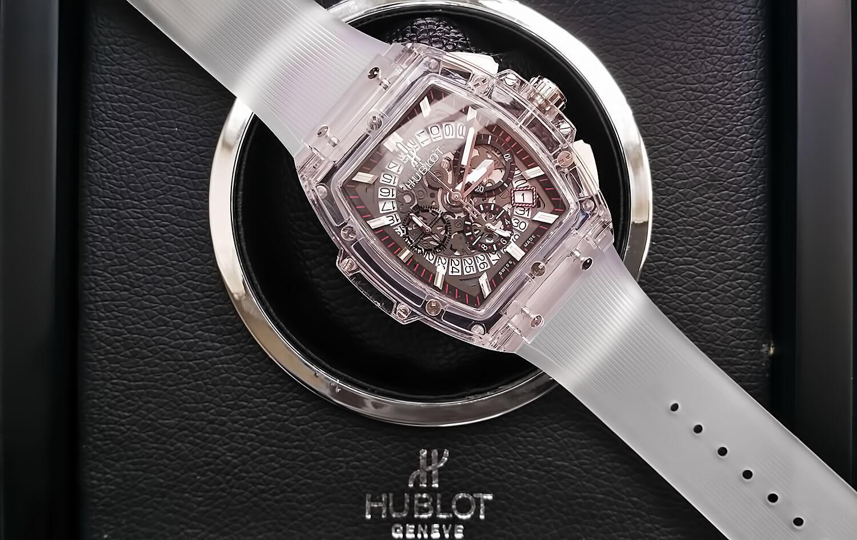 346770d843b5 Обзор реплики мужских часов Hublot Spirit of Big Bang Sapphire ...