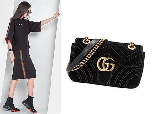 2b564d7ba807 Сумки GG Marmont коллекции Gucci: купить сумку Мормонт Гуччи в ...