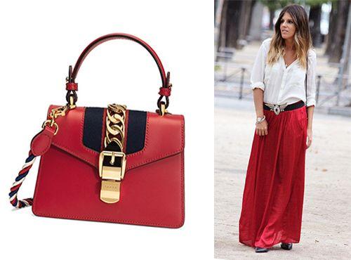 7e7a0926f9ae Сумки Sylvie коллекции Gucci: купить сумку Сильве Гуччи в магазине Имидж