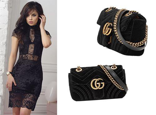 Женская сумка Gucci GG Marmont