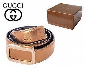 Ремень Gucci  №B046