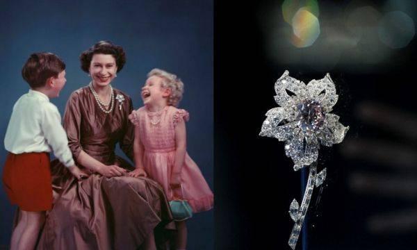 Брошь королевы Елизаветы от Cartier