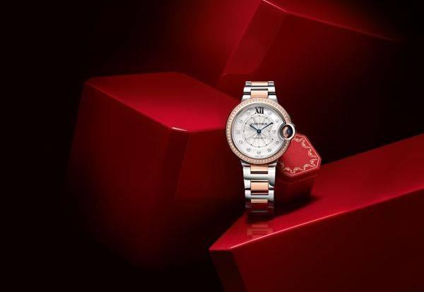 Часы одной из последних коллекций Cartier